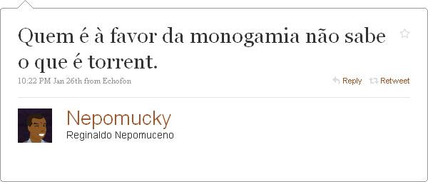 Quien está a favor de la monogamia…