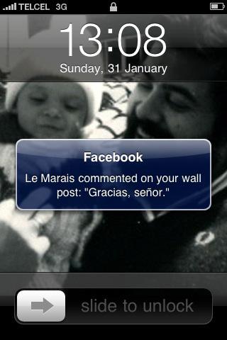 Terror en Facebook