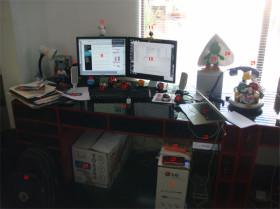 Elogio del escritorio caótico