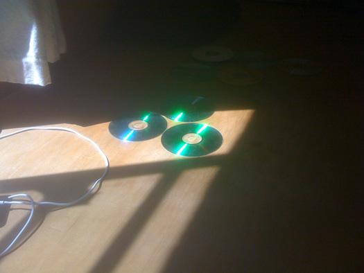 Discos con luz