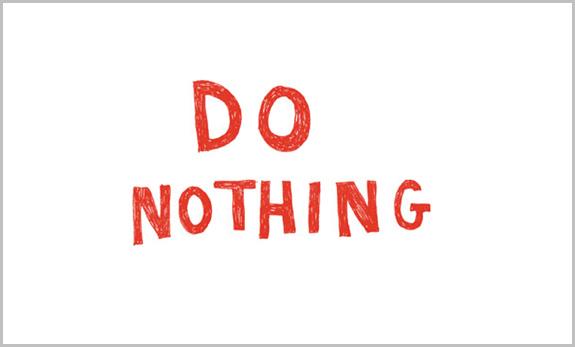 Interinactividad: No hacer nada también es hacer algo