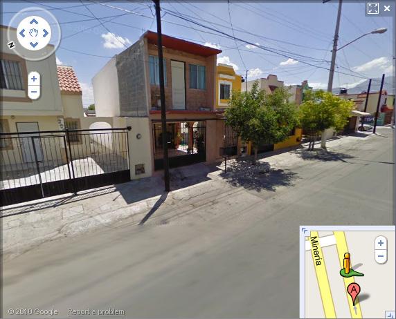 Localización de la casa en Google Maps