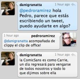 La Comic Sans es como Carrie…
