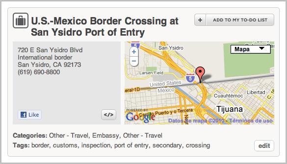 Frontera Mexico-Estados Unidos