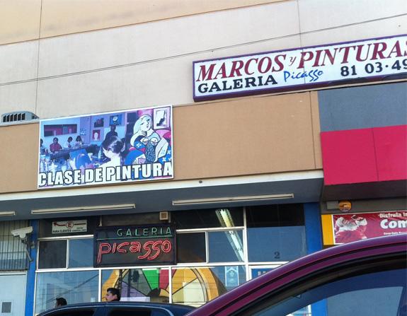 Picasso vive en Tijuana