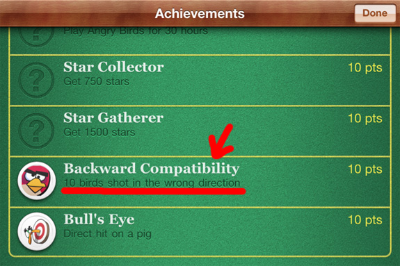 Recompensas jugando Angry Birds