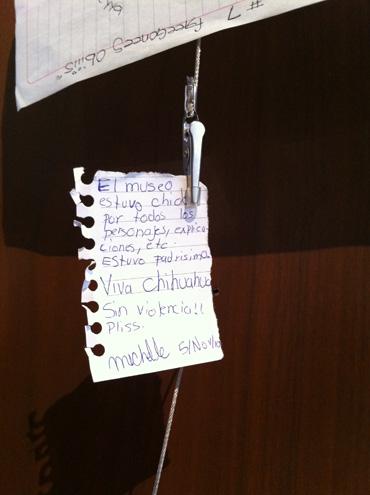 Mensaje en Casa Chihuahua