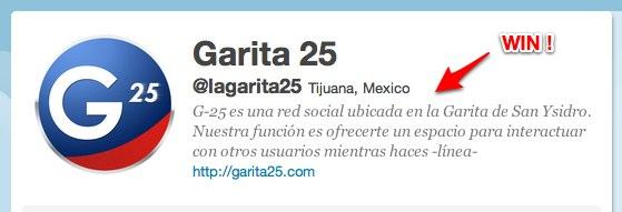 Garita 25