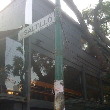 Calle Saltillo en La Condesa (Cd. de México)