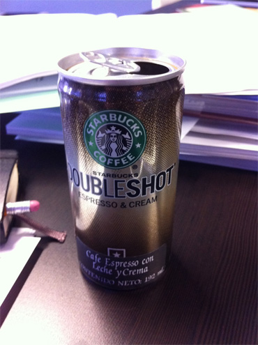 Doble Shot Expresso - Starbucks