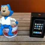 Benito, los clips y el iPhone