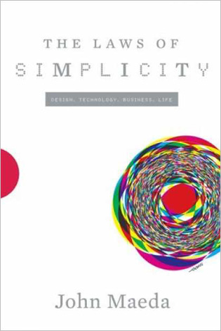 "Portada de ""The laws of simplicity"""