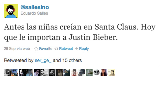 Tweet de Sallesino