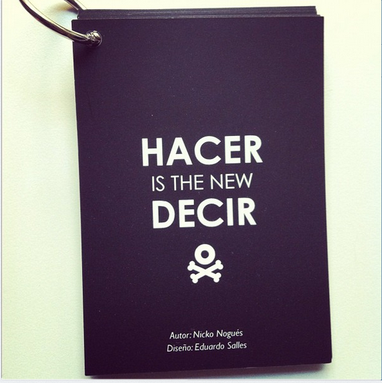 Hacer_is_the_new_Decir_By_Nicko_Nogués