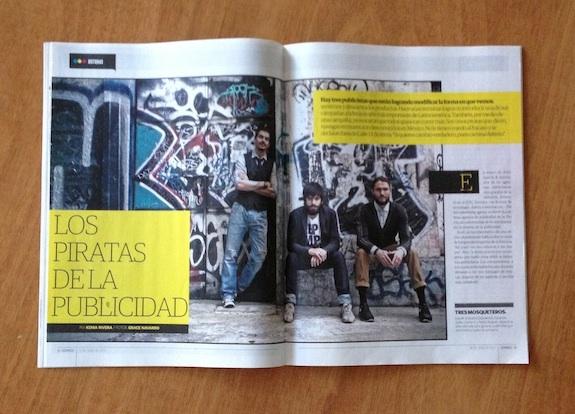 """Reportaje en la revista """"Domingo"""" - 16 Junio 2013"""