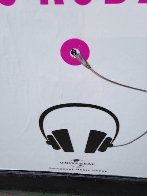 Auriculares para escuchar a Lady Gaga