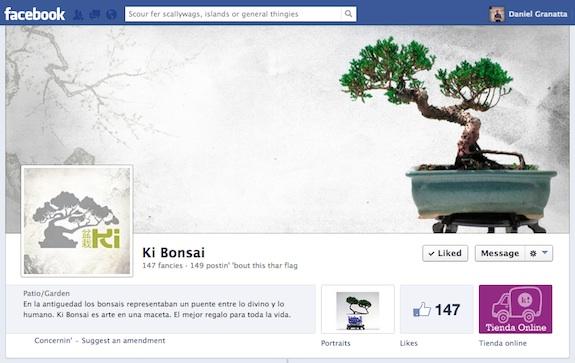 Ki Bonsai en Facebook