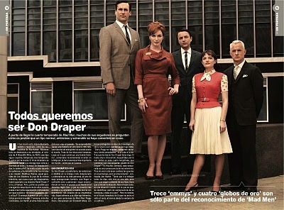 Reportaje sobre Mad Men