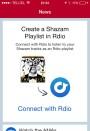 Playlist en Shazam