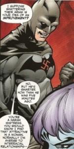 Batman Nazi, un clásico.