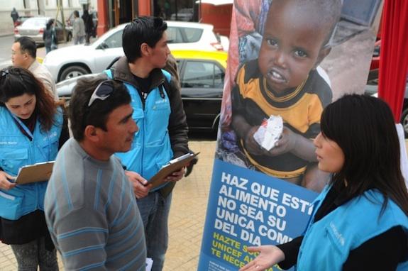 Encuestadores de UNICEF