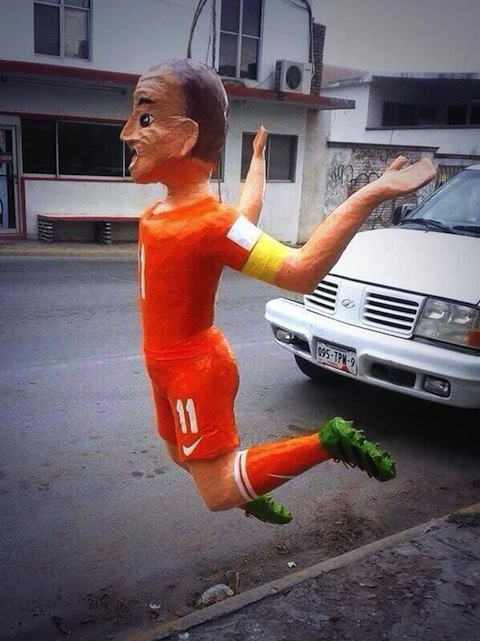 Piñata de Arjen Robben
