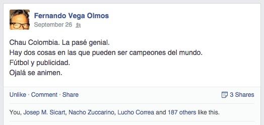 Post de Vega Olmos