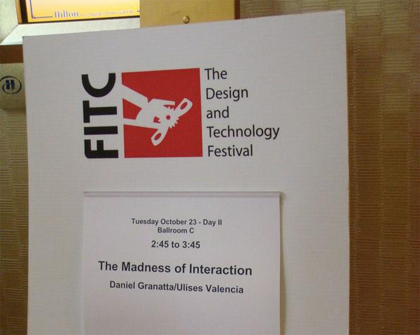 Conferencia en FITC