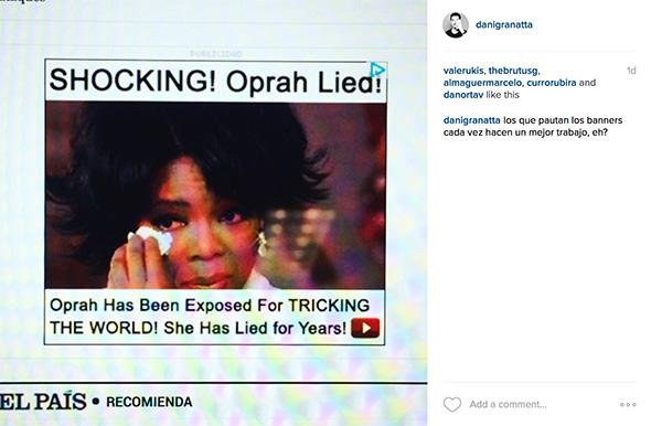 Banner de Oprah