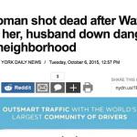 Woman shot