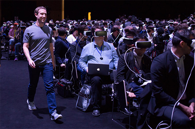 Mark Zuckerberg en el Mobile World Congress de Barcelona
