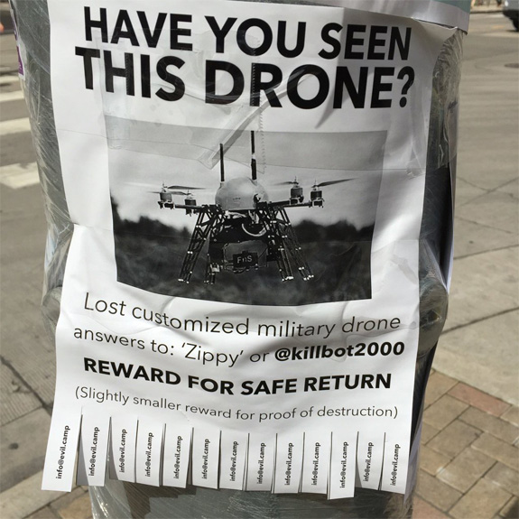 Has visto este drone?