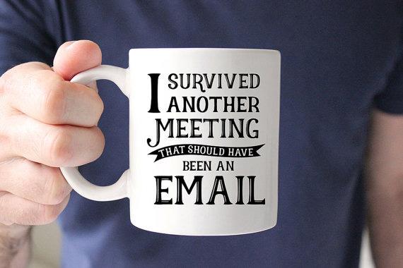 Reunión y email
