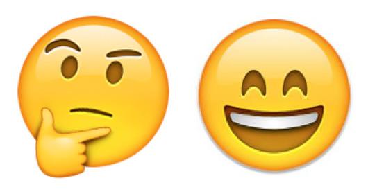 Emojis - Cinismo y Entusiasmo