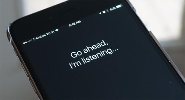 Teléfono a la escucha