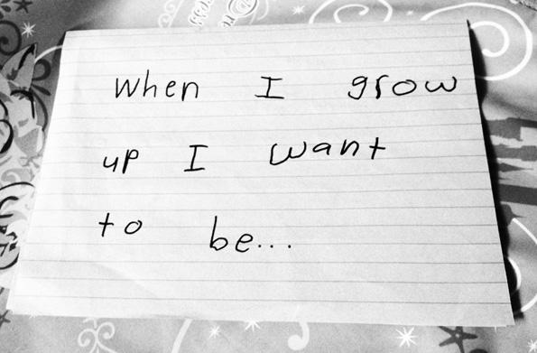 De mayor quiero ser...