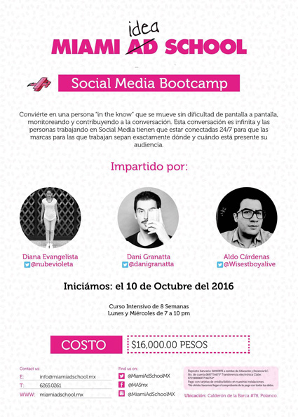 Flyer - Bootcamp Social Media