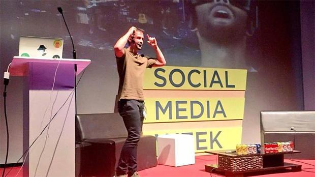 En mi charla de Social Media Week CDMX 2017