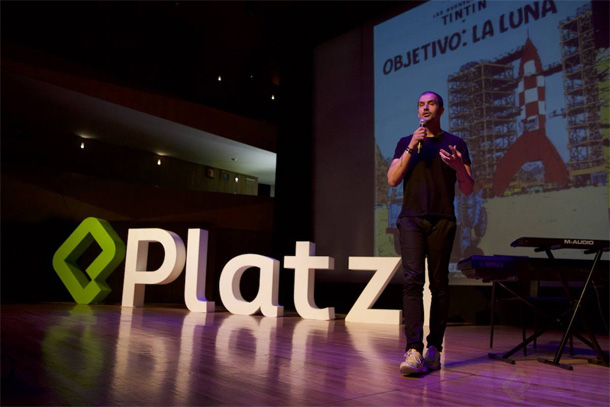En mi charla de Platzi Conf 2017